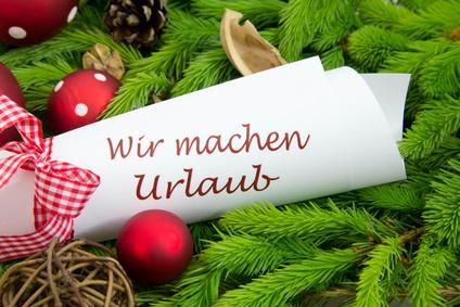 Kistler Weihnachtsurlaub